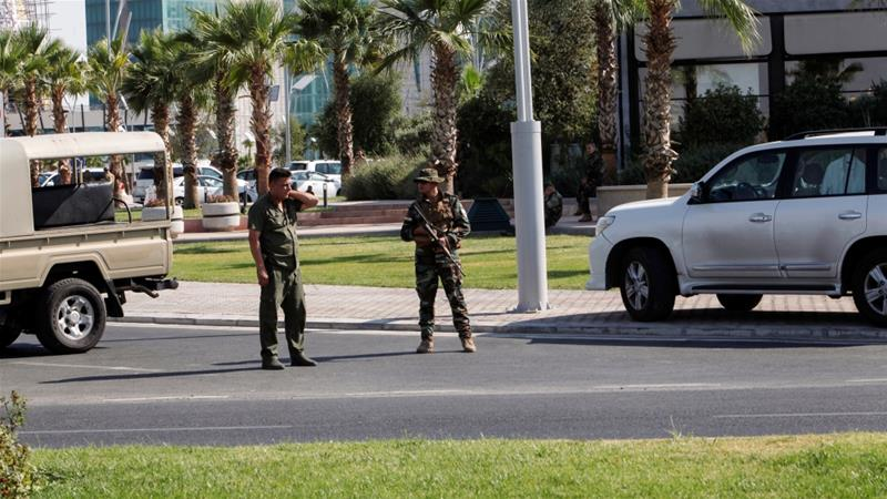 Iraq Kurds arrest two suspects in killing of Turkish vice consul