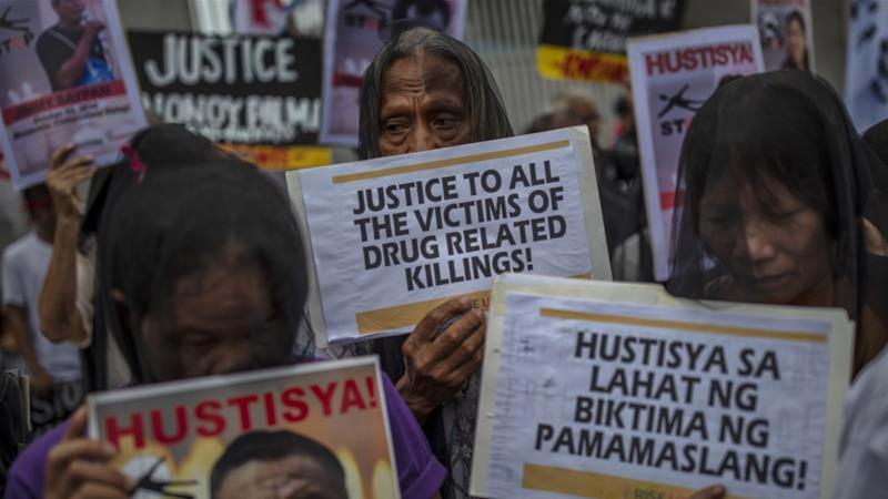 The Philippines is facing a UN inquiry into possible rights violations in anti-drug campaign [Ezra Acayan/Getty Images]