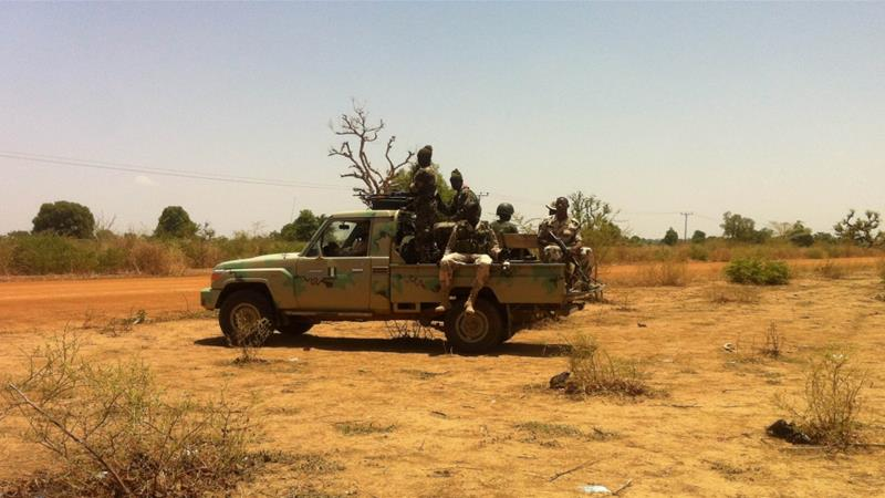 Nigerian soldiers have struggled to defeat the armed group [Sunday Alamba/AP]