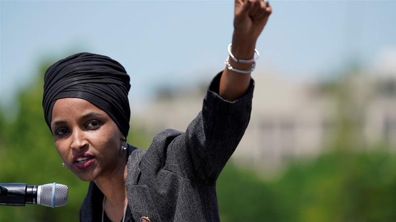 Constituent in Rep. Ilhan Omar's district reacts to President Trump's recent attacks