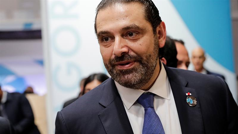 Lebanon's Prime Minister Saad al-Hariri said on Friday that his coalition government passed a state budget for 2019 [Thomas Samson/Pool via Reuters]