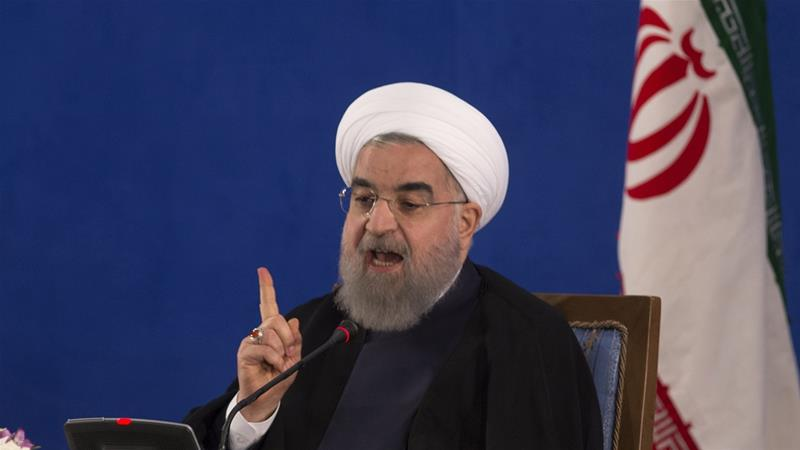 Iran's Rouhani tells US: No talks until sanctions lifted