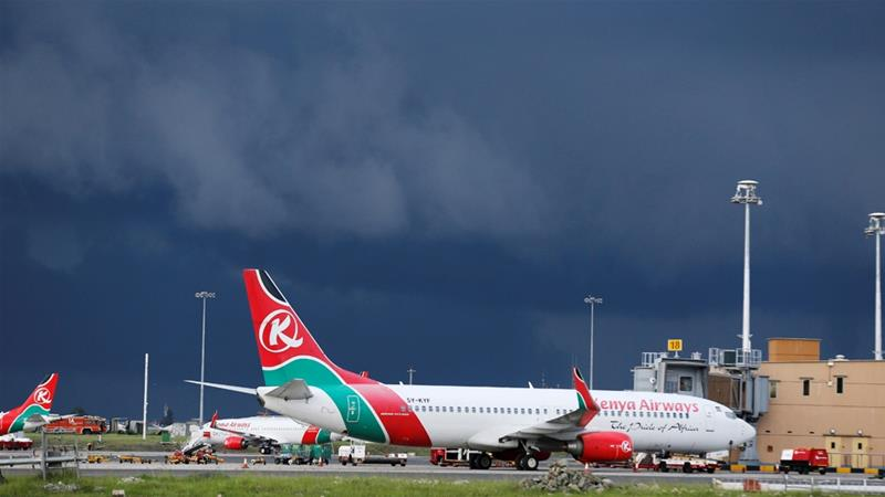 Man falls from aeroplane, narrowly missing London sunbather | Kenya