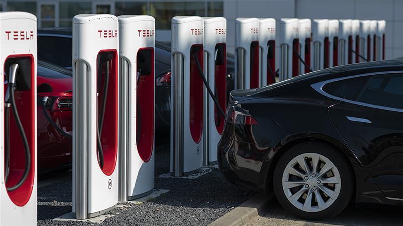 Tesla announces record electric auto  production for Q2