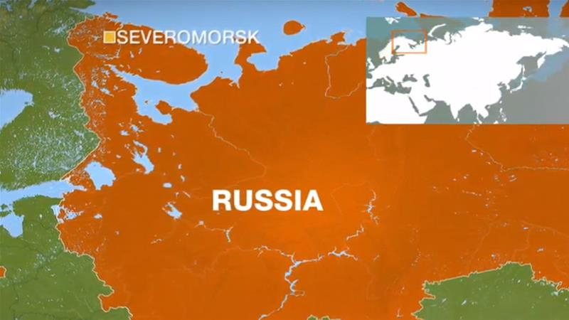 14 sailors killed in Russian underwater vessel fire
