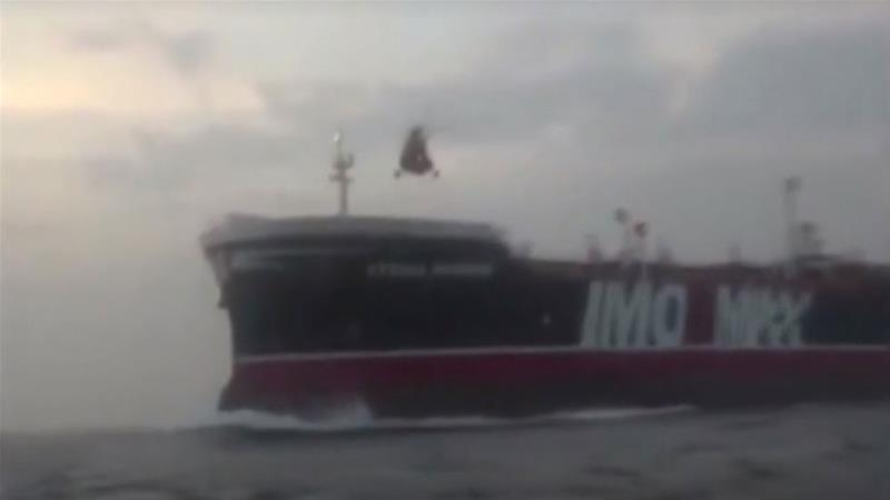 Iran releases video showing capture of British oil tanker