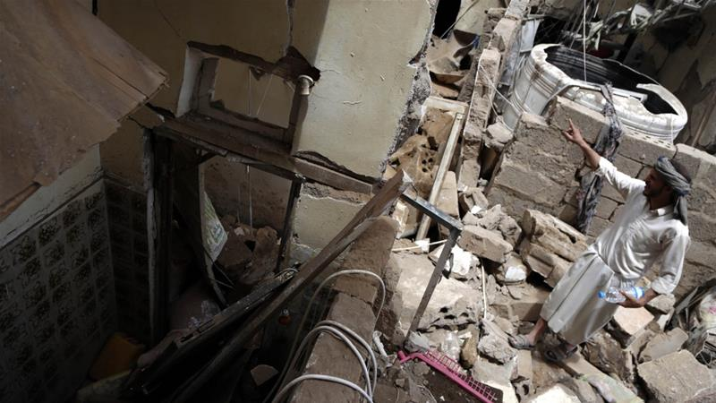 Saudi-led coalition destroys 6 military targets in Yemen's Sanaa