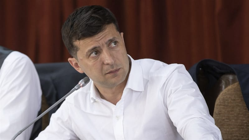 Zelensky came to power promising major changes [Ukrainian Presidential Press Office via AP]