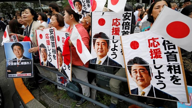 Abe's ruling coalition to maintain upper house majority: exit polls