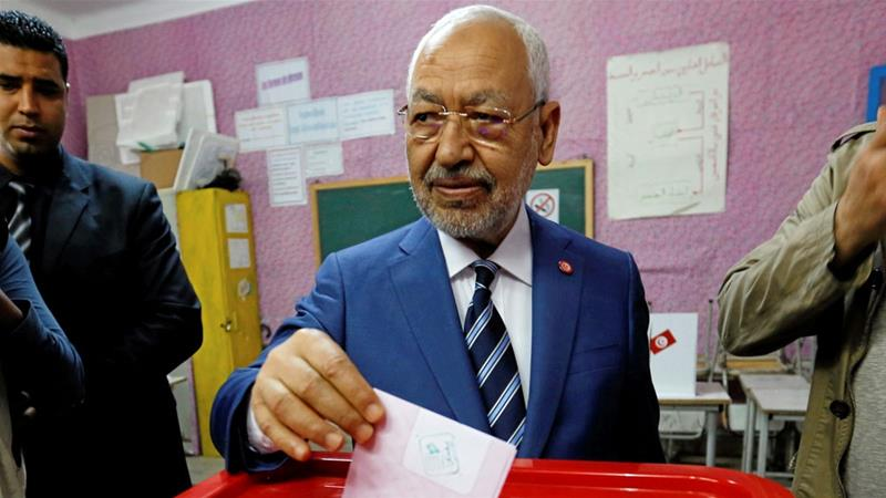 Ghannouchi is a dominant figure in Tunisia, who critics say effectively controls the country in tandem with President Beji Caid Essebsi [File: Zoubeir Souissi/Reuters]