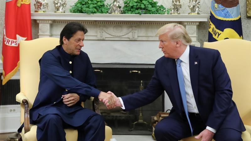 Image result for India rejects Donald Trump's statement regarding Kashmir arbitration