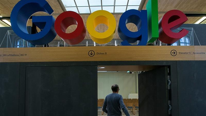 Technology giants such as Google, Inc. will be part of an antitrust review by the US Justice Department which is seeking to determine whether the firms are hurting online competition [Krisztian Bocsi/Bloomberg]