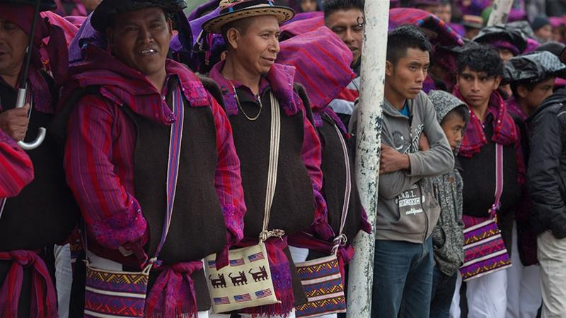 Why has Guatemala's highlands embraced the American flag?