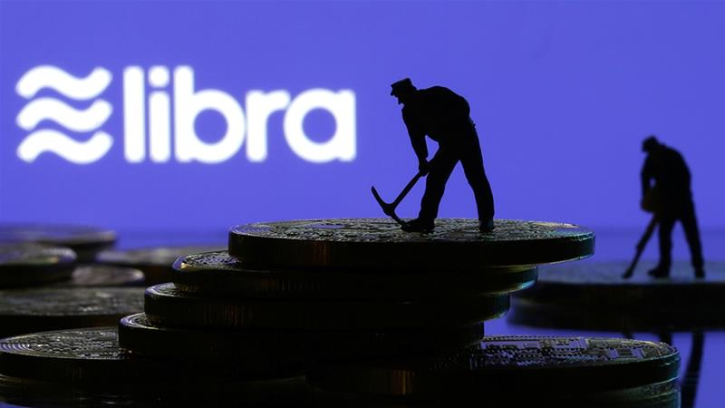 Facebook has asked its partners to reaffirm their commitment to its cryptocurrency project via the Libra Association, but some founding members are reconsidering their involvement, according to Bloomberg [File: Dado Ruvic/Reuters]