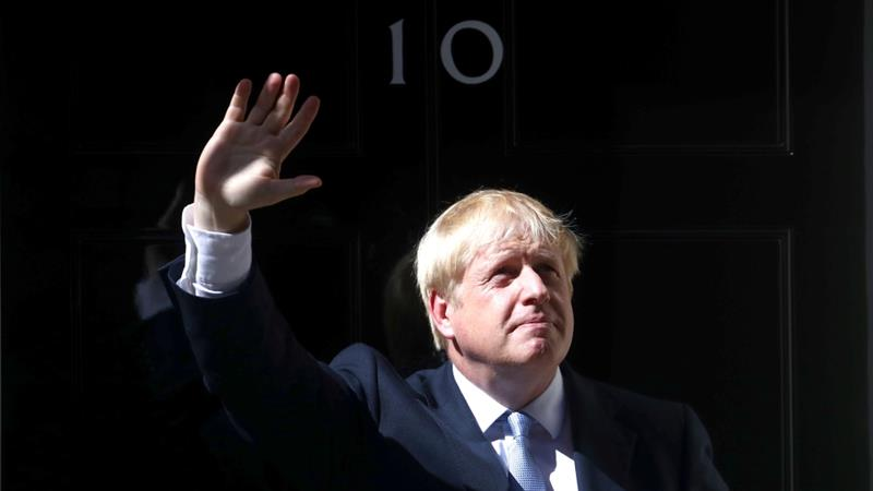 Johnson, 55, is a former foreign secretary and two-term mayor of London [Hannah McKay/Reuters]