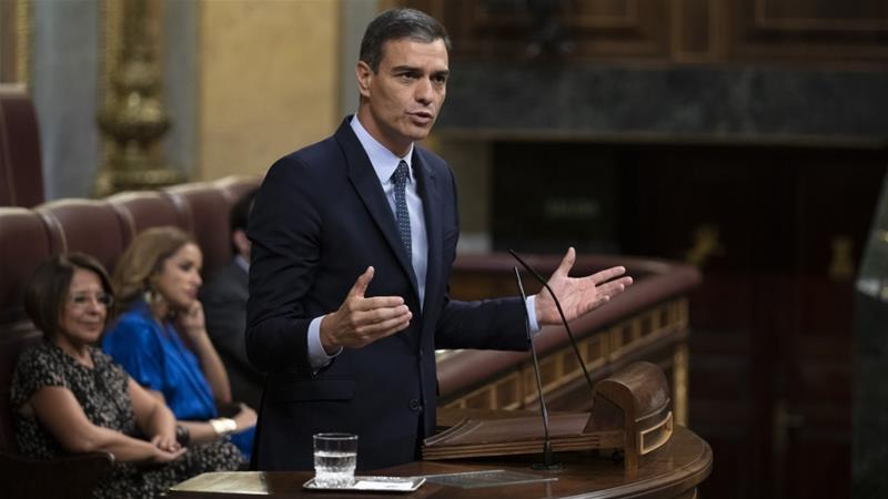 Acting Spanish PM Sanchez fails in 1st chance to form new govt