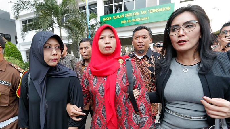 Indonesia's attorney general suspended Maknun's fine and six-month sentence earlier this month [Tatan Syuflana/AP Photo]