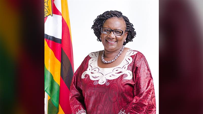 Mupfumira, a senior member of the ruling ZANU-PF party was previously labour minister and social welfare minister [File: Ministry of Environment, Tourism and hospitality]
