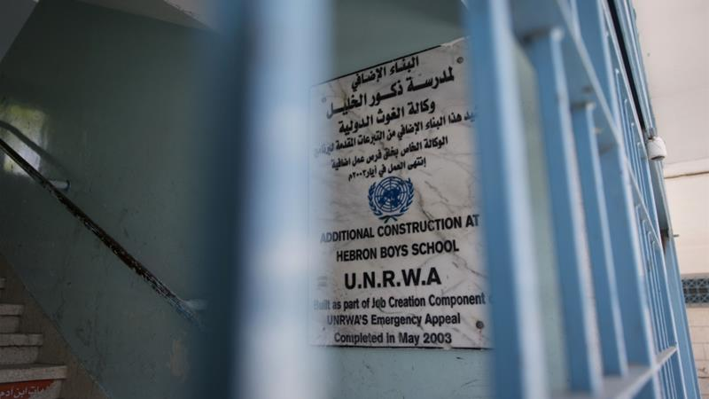 UNRWA was established to provide jobs and relief to Palestinian refugees [File: Nasser Nasser/AP]