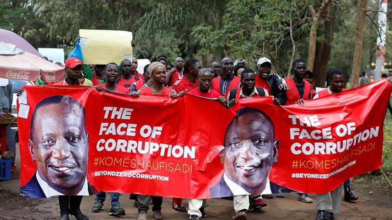 Does this week's crackdown on powerful figures mark a turning point in Kenya's war on corruption? [File: Baz Ratner/Reuters]