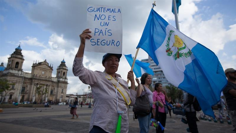 The agreement, signed on Friday, must still be approved by Guatemala's Congress [Jeff Abbott/Al Jazeera]