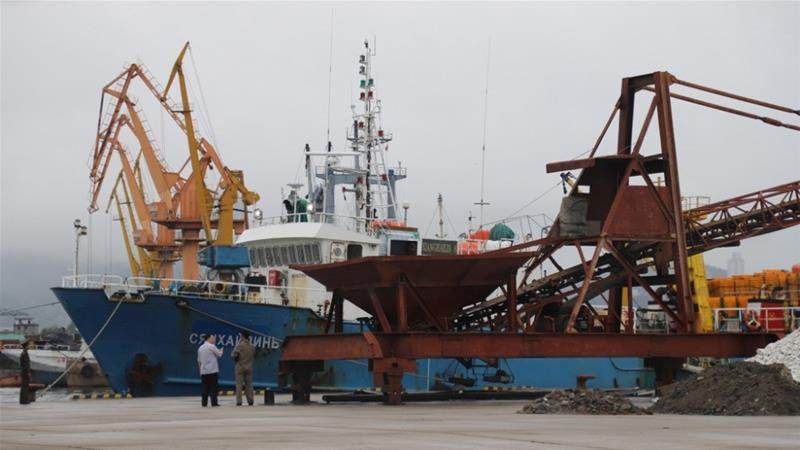 SKoreans, Russians returned days after boat drifts to North