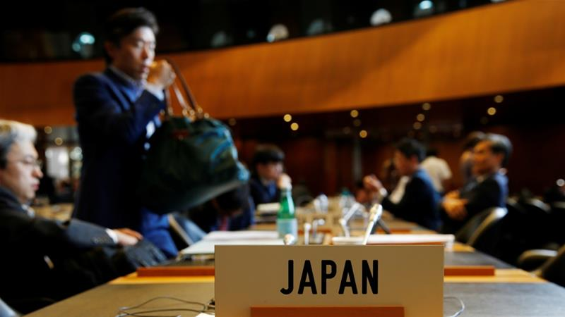 Japan and South Korea failed to resolve their trade dispute during their July 24 meeting at the World Trade Organization in Geneva [File: Denis Balibouse/Reuters]
