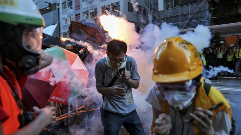 Hong Kong police under fire over violent response to protests