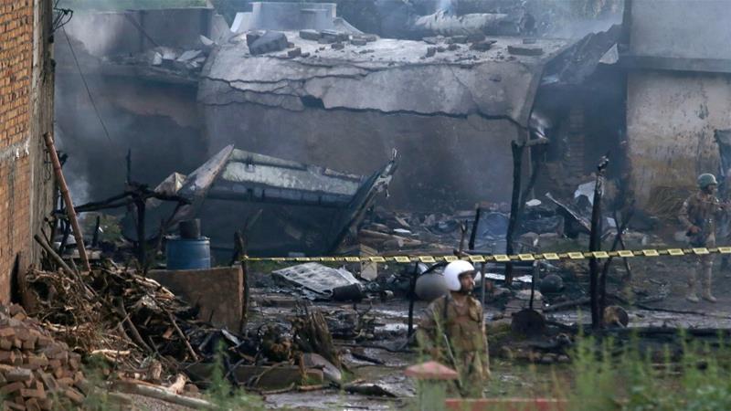 Pakistan plane crash kills over a dozen near Rawalpindi