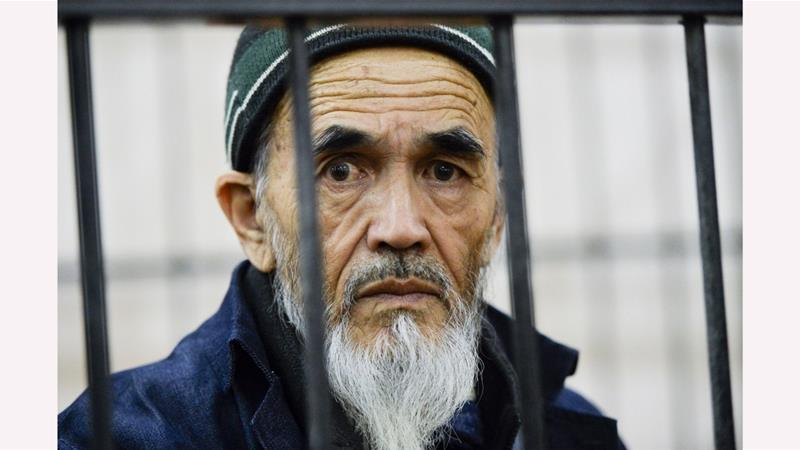 Askarov's supporters say the government used the 2010 clashes to silence him for speaking out against the persecution of Uzbeks [File: AP]