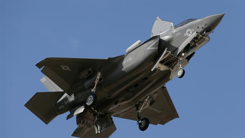 Turkey laments exclusion from US training on F-35 jets | USA News
