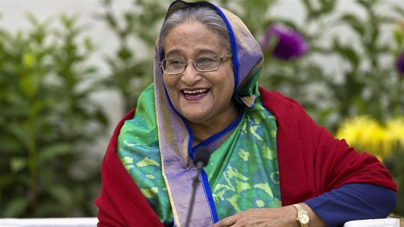 Thousands of opposition activists have been arrested under the rule of Bangladeshi Prime Minister Sheikh Hasina [AP]