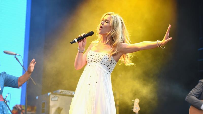 Joss Stone travelled to Iran while on a worldwide concert tour [File: Tabatha Fireman/Getty Images]