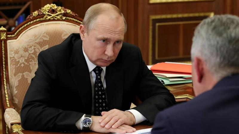 Russian President Vladimir Putin is set to co-host a summit of more than 50 leaders from across Africa in Sochi with Egyptian President Abdel Fattah el-Sisi [File: Sputnik/Kremlin via Reuters]