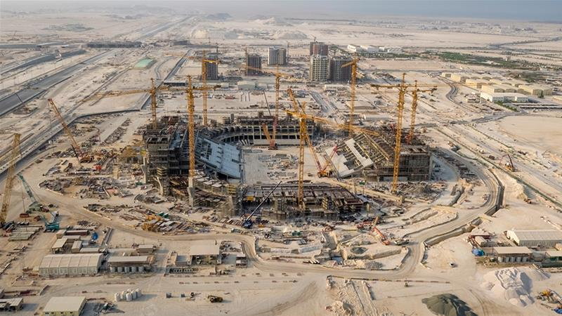 In 2010, Qatar won the rights to host the 2020 World Cup and has since spent billions on construction and infrastructure in preparation for the world's most-watched sporting event [Handout/Getty Images]