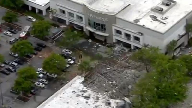 Authorities investigate explosion at Florida shopping plaza