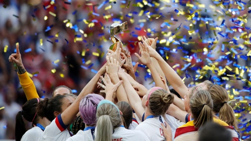 USA beat Netherlands to win Women's World Cup