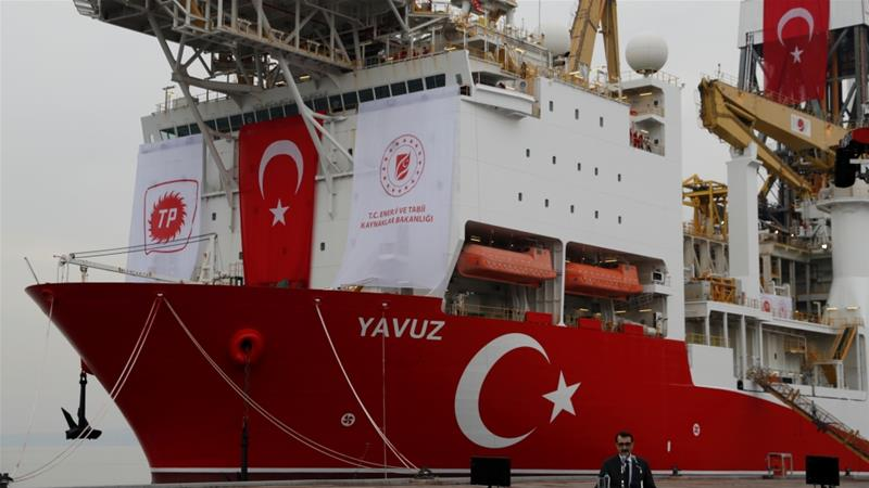 Turkey's Energy Minister Fatih Donmez has said his country has a 'licence [to drill] from the Turkish Republic of Northern Cyprus' [Murad Sezer/Reuters]