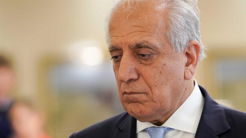 Zalmay Khalilzad, the US peace envoy who lead the peace talks with the Taliban [Sorin Furcoi/ Al Jazeera]