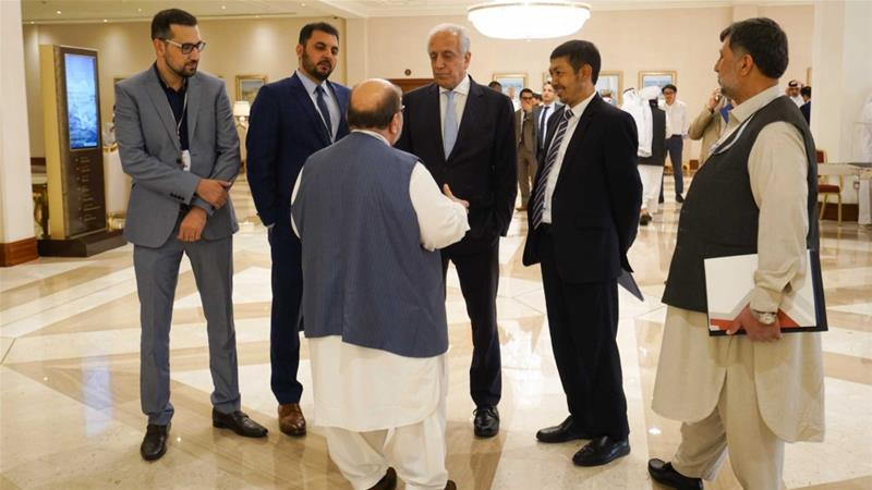 Afghan President Ghani cites 'notable progress' in US-Taliban talks