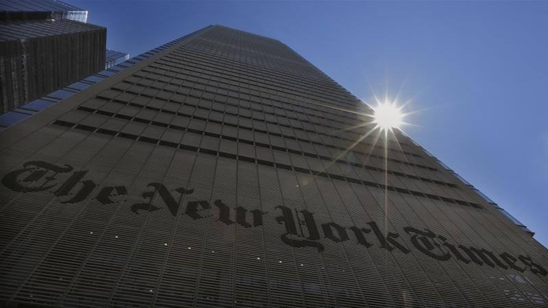 A recent job ad for Nairobi bureau chief the New York Times posted has sparked controversy [Reuters]
