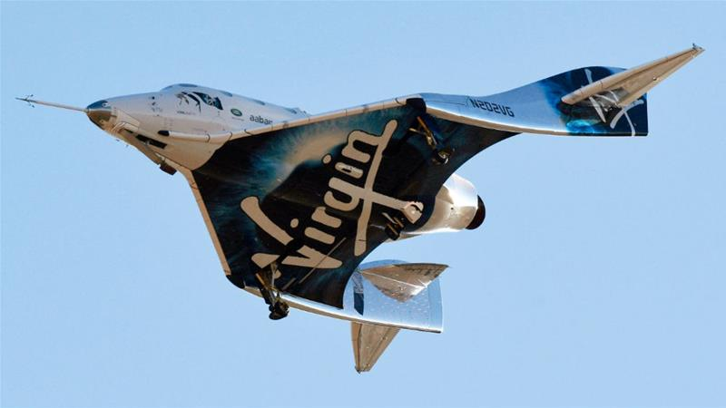 Virgin Galactic becomes the first company for human spaceflight