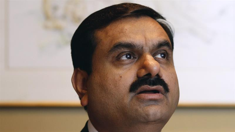 'We entered Australia with two overarching goals; contributing to energy security in India and creating job opportunities for the locals,' says Gautam Adani [Adeel Halim/Bloomberg]