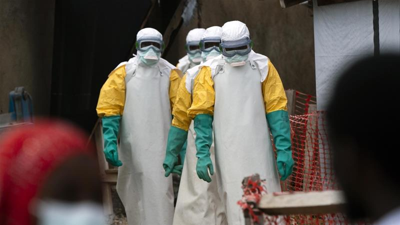 Four Ebola responders killed by rebels in eastern DRC, WHO alarmed