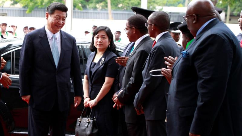 China's President Xi Jinping enjoys a strong relationship with many African leaders, with his country increasingly turning to the continent as a source of resources and as a market for its products [File: Thomas Mukoya/Reuters]