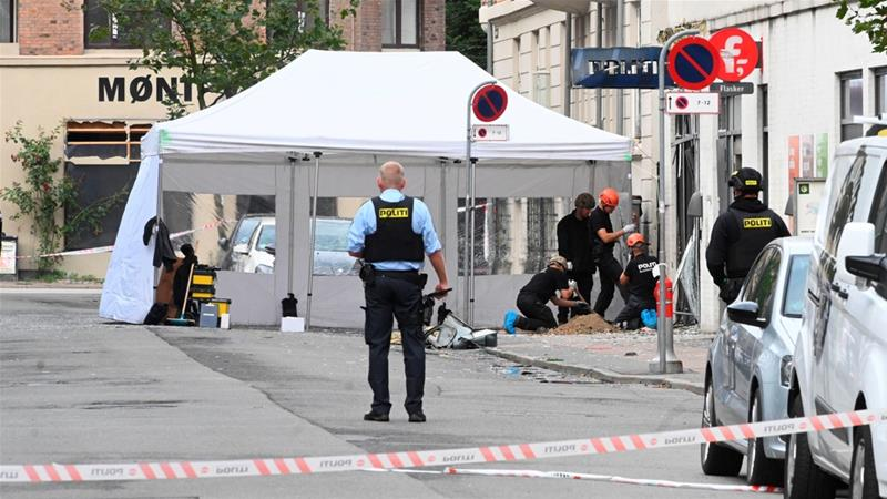 Copenhagen hit by second blast in four days