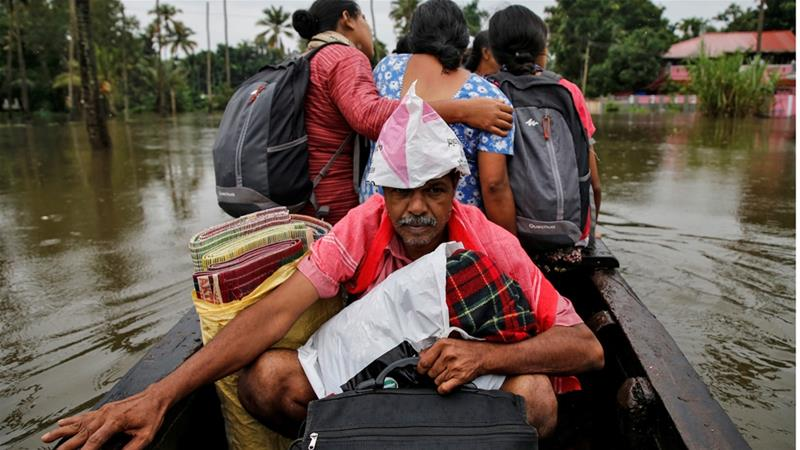 At least 48 people have died since Thursday in floods in Kerala [File: Sivaram V/Reuters]