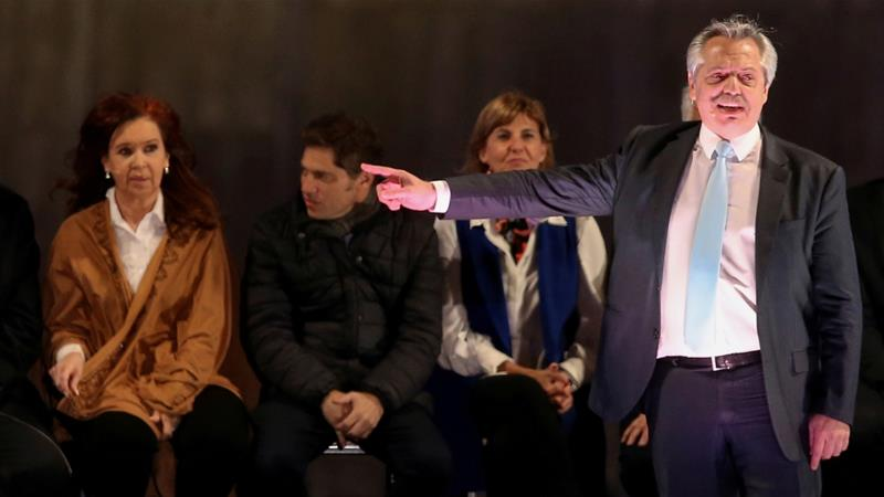 Opposition candidate leads Argentina's primary polls
