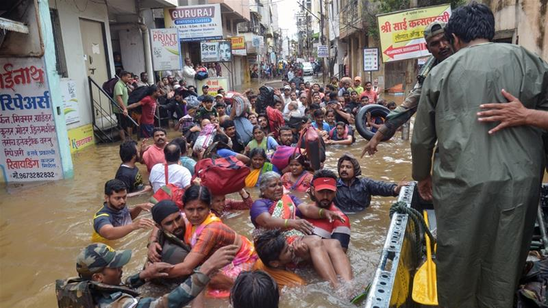 India flood death toll rises to 227
