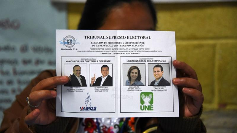 Giammattei Wins Guatemala Presidential Election